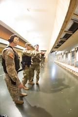 Law Enforcement Wepons Qualification (USAG Stuttgart) Tags: 18thmp 554thmilitarypolicecompany bde bodyarmor closequartersshooting indoorrange m9 panzer pistol range range7 stuttgart drills target