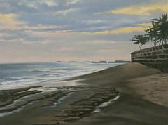Bali Sunset (luis_colan) Tags: bali indonesia painting pleinair oilpainting landscape art artwork luiscolan