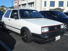 1991 Volkswagen GTI (splattergraphics) Tags: 1991 volkswagen golf gti vw volksrod carshow huntvalleytownecentre huntvalleymd huntvalleyhorsepower