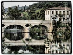Ponte sobre o rio Vez (Z Carlos) Tags: ponte arcosdevaldevez portugal olympusviewer3 brigde water riovez vianadocastelo gua