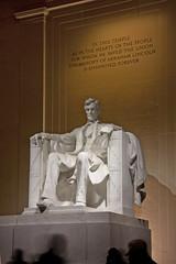 Lincoln Memorial @ Night  (13) (smata2) Tags: lincolnmemorial washingtondc dc nationscapital canon monument memorial postcard