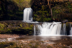 Sgwd Ddwli Isaf, Brecon Beacons (MarkWarnes) Tags: wales neathvalley llwybrelidir sdwdgwladus waterfalls water waterfallcountry pontnedfechan theelidirtrail brecon beacons