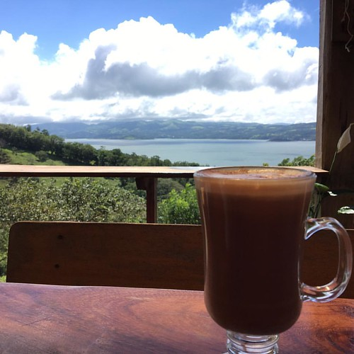 Nice spot for a coffee #costarica