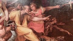"The Queen's Gallery: detail from Federico Zuccaro's painting ""Calumny"" (John Steedman) Tags: london uk unitedkingdom england   greatbritain grandebretagne grossbritannien       queensgallery"