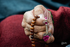 Vajra (Riccardo Maria Mantero) Tags: candid riccardomantero riccardomariamantero detail hands india mystic people prayer praying religion tibet travel
