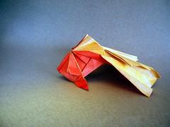Goldfish - Ta Trung Dong (Rui.Roda) Tags: origami papiroflexia papierfalten pez dorado poisson rouge goldfish ta trung dong