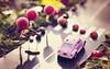 gabby road (cherryspicks (on/off)) Tags: macromondays beatlesbeetles abbeyroad road car ladybug colorful daytime sunshine crossing traffic grass volkswagen vw tribute