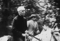 Nehru arrives in Simla (Doc Kazi) Tags: pakistan india independence negotiations ceremonies jinnah gandhi nehru mountbatten viceroy wavell stafford cripps edwina fatima muhammad ali