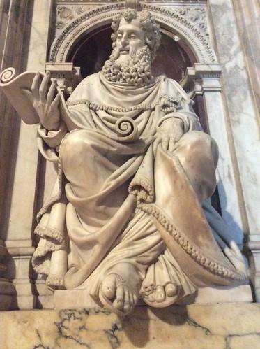 Rivestimento Marmoreo della Santa Casa di Loreto (Parete sud, particolare)