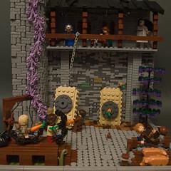 Little carrot contest (crises_crs) Tags: ccc lego archery medieval zbudujmyto ghost kid arrow scene castle