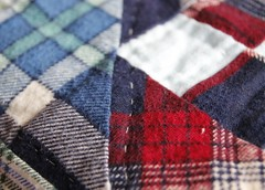 MACRO MONDAYS - 'Stitch' theme (wessexman...(Mike)) Tags: macromondays quilt stitch hmm