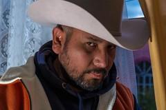 Autorretrato (Victor Ortiz Reyes) Tags: eos70d canon actor mexican cloudyday hat sombrero portrait vaquero autorretrato