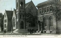 P-60-S-164 (neenahhistoricalsociety) Tags: methodist churches telephonebuilding