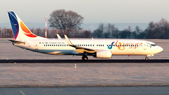 SU-TMG (equief) Tags: feg4964 sutmg flyegypt fly egypt boeing 73786j 737800 737 erf edde erfurt flughafenerfurtweimar flughafen winter cold morning departure hegn hurghada hrg