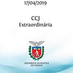 CCJ Extraordinária 17/04/2019