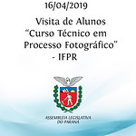 Visita de Alunos - IFPR - 16/04/2019