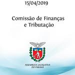 Comissão de Finanças e Tributação 15/04/2019