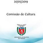 Reunião da Comissão de Cultura - 20/05/19