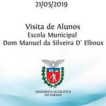 Visita Escola Municipal Dom Manuel da Silveira D' Elboux Linhas do conhecimento 20/05/2019