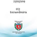 CCJ Extraordinária 22/05/2019