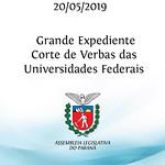 Grande Expediente - Corte de Verbas das Universidades Federais - 20/05/2019
