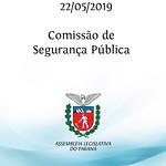 Comissão de Segurança Pública 22/05/2019