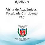 Visita de acadêmicos da Faculdade Curitibana - FAC