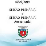 Sessão Plenária e Sessão Plenária Extraordinária 18/06/2019