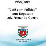 Café com Política com deputado Luiz Fernando Guerra