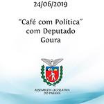 Café com Política com deputado Goura
