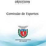 Comissão de Esportes 08/07/2019