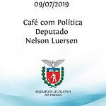Café com Política com deputado Nelson Luersen