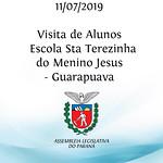 Visita de alunos da Escola - Sta Terezinha do Menino Jesus - Guarapuava