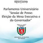 Parlamento Universitário - Sessão de Posse 18/07/2019