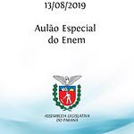 Aulão Especial do Enem 13/08/2019