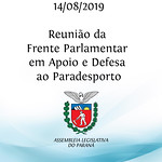 Reunião da Frente Parlamentar em Apoio e Defesa ao Paradesporto