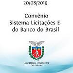 Convênio - Sistema de Licitações - E do Banco do Brasil 20/08/2019