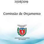 Comissão de Orçamento 21/08/2019