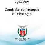 Comissão de Finanças e Tributação 21/08/2019