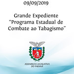 Grande Expediente - Programa Estadual de Combate ao Tabagismo, com a palestra do doutor Jonatas Reichert.