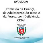 Comissão da Criança, do Adolescente, do Idoso e da Pessoa com Deficiência - CRIAI