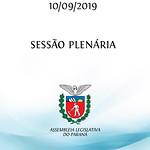 Sessão Plenária 10/09/2019