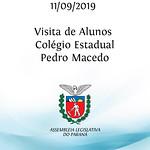 Visita de Alunos do Colégio Estadual Pedro Macedo