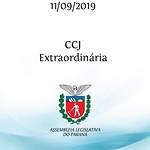 CCJ Extraordinária 11/09/2019