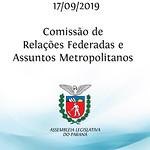Comissão de Relações Federadas e Assuntos Metropolitanos